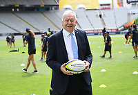 4th February 2020, Eden Park, Auckland, New Zealand;  World Rugby Chairman Sir Bill Beaumont.<br /> RWC 2021 New Zealand Kick-Off event at Eden Park, Auckland, New Zealand on Tuesday 4th February 2020.