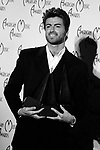 George Michael 1989 American Music Awards for Pop/ Rock Artist, Soul/R&B Artist and Soul/R&B Album for Faith.<br /> © Chris Walter