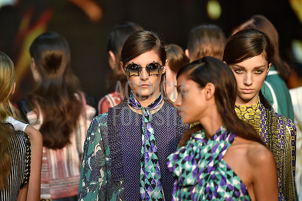 Milao, It&aacute;lia &sbquo;09/2014 - Desfile de Just Cavalli durante a Semana de moda de Nova Milao  -  Verao 2015. <br /> <br /> Foto: FOTOSITE