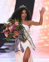 2019 MISS USA®: Miss North Carolina, Chelsie Kryst is named the new Miss USA at the 2019 MISS USA airing Thursday, May 2 (8:00-10:00 PM ET live/PT tape-delayed) on FOX. (Photo by Frank Micelotta/FOX/PictureGroup)