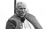Pope John Paul II, making an appearance at Battery Park, in the Borough of Manhatten, New York City, NY on October 3, 1979. Photo by Jim Peppler. Copyright/Jim Peppler/1979