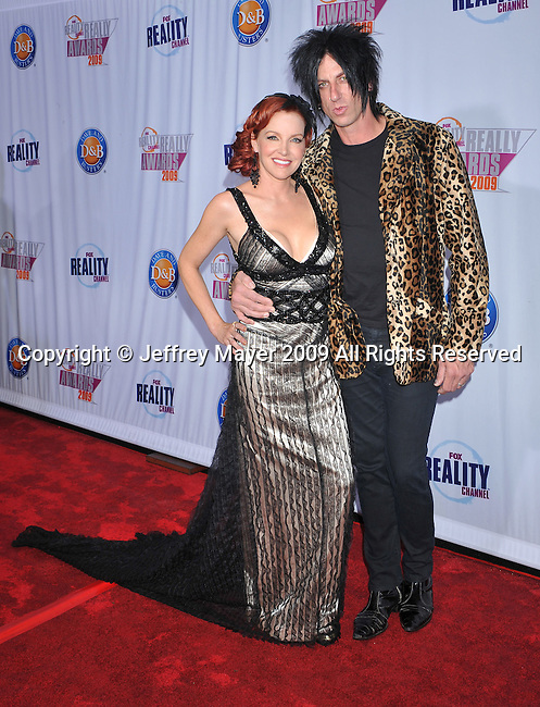 HOLLYWOOD, CA. - October 13: Gretchen Bonaduce and Kevin Starr arrive at the 2009 Fox Reality Channel Really Awards at the Music Box at the Fonda Theatre on October 13, 2009 in Hollywood, California.