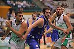 Basketball Champions League 2017/18 - Previus.<br /> Divina Seguros Joventut vs Dinamo Tbilisi: 86-66.<br /> Albert Ventura vs Mikhail Berishvili.