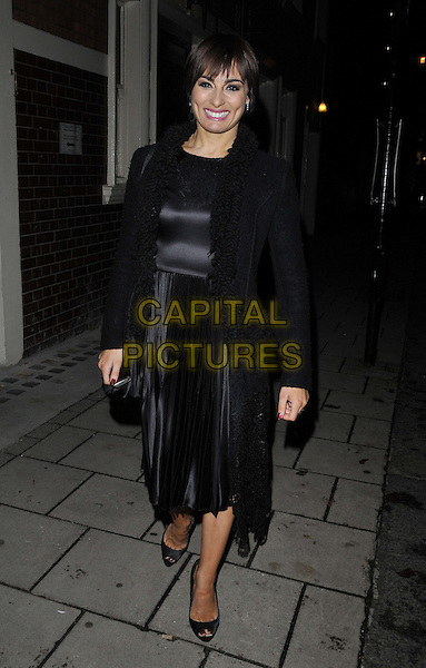 LONDON, ENGLAND - NOVEMBER 03: Flavia Cacace-Mistry attends the &quot;Dance 'Til Dawn&quot; press night afterparty, Waldorf Hilton Hotel, Aldwych, on Monday November 03, 2014 in London, England, UK. <br /> CAP/CAN<br /> &copy;Can Nguyen/Capital Pictures