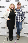 "Lindsey Ferrentino and Scott Ellis attends the Meet & Greet for the cast of ""Amy and the Orphans"" at the Roundabout Theatre rehearsal hall on January 10, 2018 in New York City."