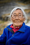 A Greenland elder. Cape Farewell Youth Expedition 08(©Robert vanWaarden ALL RIGHTS RESERVED)