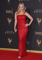 10 September  2017 - Los Angeles, California - Wendi McLendon-Covey. 2017 Creative Arts Emmys - Arrivals held at Microsoft Theatre L.A. Live in Los Angeles. <br /> CAP/ADM/BT<br /> &copy;BT/ADM/Capital Pictures
