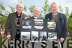 A photographic exhibition was put in place for the elderly residents and the local community to mark the Bealtaine festival. .L-R Garrett McCarthy, Miah Hickey and Jack O' Callaghan.