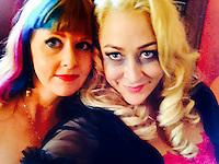 "Staci Layne Wilson, Jennifer Blanc<br /> On The Set Of Blanc/Biehn Production's ""Fetish Factory,"" Private Location, Los Angeles, CA 05-11-14<br /> David Edwards/DailyCeleb.com 818-249-4998"