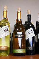 Bottle of Reserva chardonnay Bodega Del Fin Del Mundo - The End of the World - Neuquen, Patagonia, Argentina, South America
