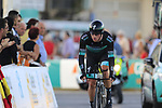 Bora-Hansgrohe including Shane Archbald (NZL) in action during Stage 1 of La Vuelta 2019, a team time trial running 13.4km from Salinas de Torrevieja to Torrevieja, Spain. 24th August 2019.<br /> Picture: Eoin Clarke | Cyclefile<br /> <br /> All photos usage must carry mandatory copyright credit (© Cyclefile | Eoin Clarke)