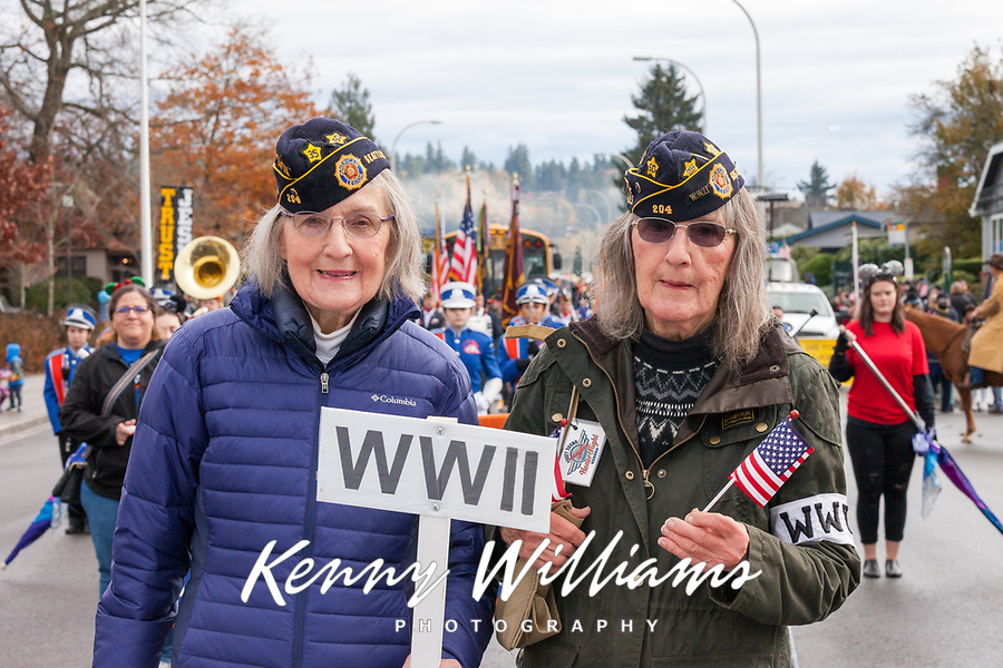 Veterans Day Parade 2017, Auburn, WA, USA.