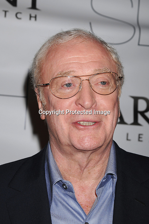 """Michael Caine..arriving at The New York Premiere of """"Sleuth"""" on ..October 2, 2007 at The Paris Theatre. The event was ..hosted bu Parmigiani Watch Company. ..Photo by Robin Platzer, Twin Images....212-935-0770"""