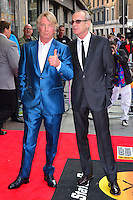 Rick Parfitt &amp; Francis Rossi<br /> The &quot;Bula Quo!&quot; UK film premiere, Odeon West End cinema, Leicester Square, London, England.<br /> July 1st, 2013<br /> full length blue black suit white shirt tinted glasses <br /> CAP/BF<br /> &copy;Bob Fidgeon/Capital Pictures