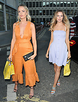 Charli Fisher and Olivia Arben at the Diamond Roc and The National Gallery fashion collaboration launch party, CAMA Gallery, Dacre Street, London, England, UK, on Monday 02 July 2018.<br /> CAP/CAN<br /> &copy;CAN/Capital Pictures