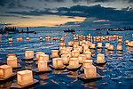 Floating Lanterns, Honolulu, Hawaii, Ala Moana Park