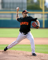 Sergio Romo - San Francisco Giants - 2009 spring training.Photo by:  Bill Mitchell/Four Seam Images