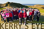 Ball Play<br /> ---------<br /> Ballybunion golf club captain,Brendan Loinsigh and Lady Captain AnnMarie Carroll got a great turnout for their Captains Drive day at the club last Sunday morning.