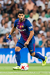 Luis Suarez of FC Barcelona in action during their Supercopa de Espana Final 2nd Leg match between Real Madrid and FC Barcelona at the Estadio Santiago Bernabeu on 16 August 2017 in Madrid, Spain. Photo by Diego Gonzalez Souto / Power Sport Images
