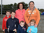 Lorraine and Deirdre McMahon, Courtney Commons, Luke and Eoin Shearman pictured at St Mary's GFC family fun day. Photo:Colin Bell/pressphotos.ie