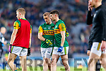 Stephen O'Brien and Paul Geaney, Kerry before the Allianz Football League Division 1 Round 1 match between Dublin and Kerry at Croke Park on Saturday.