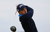 Paul Dunne (IRL) on the 17th tee during Round 4 of the 2015 Alfred Dunhill Links Championship at the Old Course in St. Andrews in Scotland on 4/10/15.<br /> Picture: Thos Caffrey | Golffile