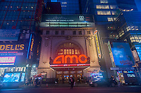 The AMC 25 Theatre in Times Square in New York on Tuesday, May 3, 2016. (© Richard B. Levine)