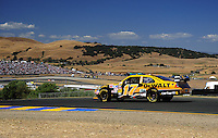 Jun. 21, 2009; Sonoma, CA, USA; NASCAR Sprint Cup Series driver Matt Kenseth during the SaveMart 350 at Infineon Raceway. Mandatory Credit: Mark J. Rebilas-