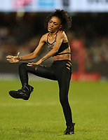 DURBAN, SOUTH AFRICA - APRIL 14: Entertainment during the Super Rugby match between Cell C Sharks and Vodacom Bulls at Jonsson Kings Park Stadium on April 14, 2018 in Durban, South Africa.Photo: Steve Haag / stevehaagsports.com