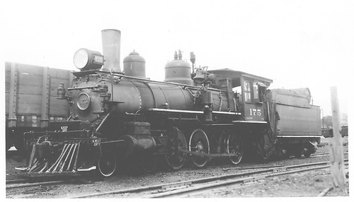Engine #175 in yard at Santa Fe, NM.<br /> D&amp;RGW  Santa Fe, NM  5/25/1933