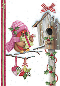 Sharon, CHRISTMAS ANIMALS, WEIHNACHTEN TIERE, NAVIDAD ANIMALES, GBSS, paintings+++++,GBSSC50XCR1,#XA#