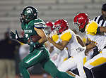 Torrance, CA 09/08/17 - Sampson Kuaea (South #5) in action during the Hawthorne vs South Torrance CIF-SS non-conference Varsity football game at South Torrance High School.