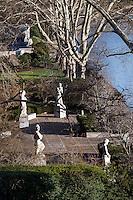 Ellen Phillips Samuel Memorial Sculpture Garden in Fairmount Park.