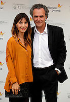 Jose Coronado and Barbara Goenaga during the 61 San Sebastian Film Festival, in San Sebastian, Spain. September 20, 2013. (ALTERPHOTOS/Victor Blanco) /NortePhoto