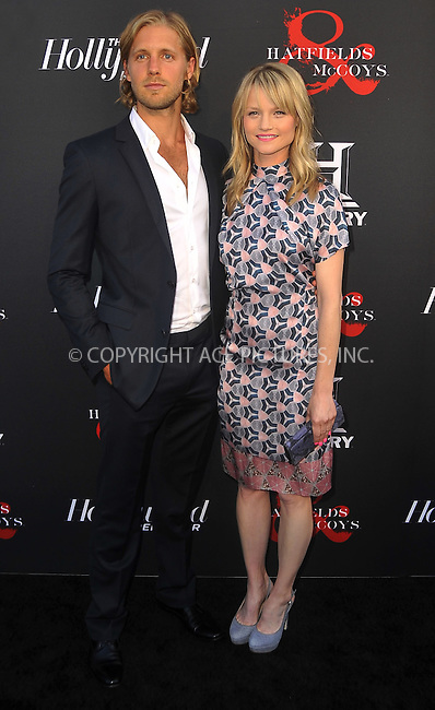 WWW.ACEPIXS.COM . . . . .  ....May 21 2012, LA....Matt Barr and Lindsay Pulsipher at a special screening of 'Hatfields & McCoys' hosted by The History Channel at Milk Studios on May 21, 2012 in Hollywood, California. ....Please byline: PETER WEST - ACE PICTURES.... *** ***..Ace Pictures, Inc:  ..Philip Vaughan (212) 243-8787 or (646) 769 0430..e-mail: info@acepixs.com..web: http://www.acepixs.com