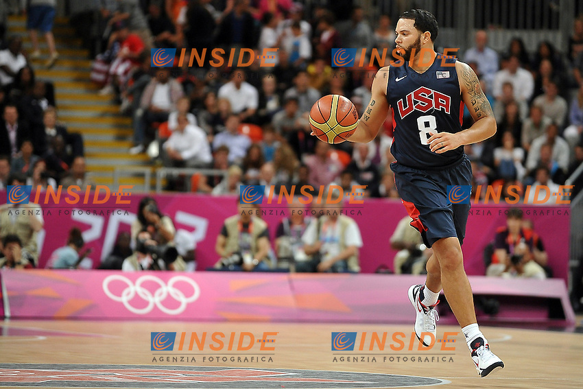 WILLIAMS Deron (USA).Basket USA vs ARGENTINA.London 06/08/2012.Olympic Games London 2012.Olimpiadi Londra 2012.Foto Giovanni Minozzi / Insidefoto