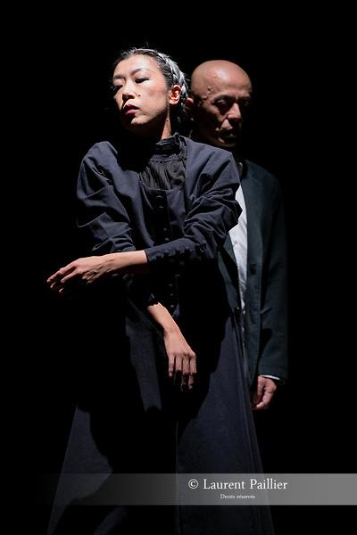 THE IDIOT<br /> <br /> MISE EN SC&Egrave;NE, LUMI&Egrave;RES, COSTUMES, COLLAGE MUSICAL Saburo Teshigawara<br /> COLLABORATION ARTISTIQUE Rihoko Sato<br /> COORDINATION TECHNIQUE / ASSISTANT LUMI&Egrave;RES Sergio Pessanha<br /> ASSISTANT LUMI&Egrave;RES Hiroki Shimizu<br /> AVEC Saburo Teshigawara, Rihoko Sato<br /> Compagnie : KARAS<br /> Lieu : Th&eacute;&acirc;tre National de la Danse de Chaillot - Salle Firmin Gemier<br /> Date : 26/09/2018<br /> Cadre : Tous japonais