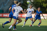 Seattle, Washington - Saturday, July 2nd, 2016: Boston Breakers forward Stephanie McCaffrey (9) during a regular season National Women's Soccer League (NWSL) match between the Seattle Reign FC and the Boston Breakers at Memorial Stadium. Seattle won 2-0.