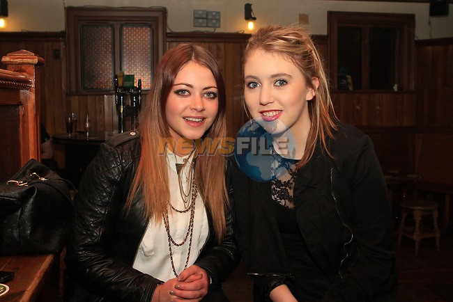 Lele McAllister and Claire Regan in McPhails...Photo NEWSFILE/Jenny Matthews..(Photo credit should read Jenny Matthews/NEWSFILE)