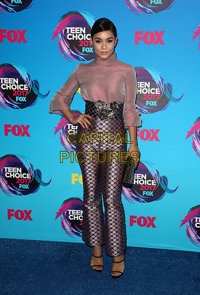 LOS ANGELES, CA - AUGUST 13: Vanessa Hudgens, at the Teen Choice Awards 2017 at Galen Center on August 13, 2017 in Los Angeles, California. <br /> CAP/MPI/FS<br /> &copy;FS/MPI/Capital Pictures