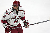 Colton Kerfoot (Harvard - 6) - The Harvard University Crimson defeated the US National Team Development Program's Under-18 team 5-2 on Saturday, October 8, 2016, at the Bright-Landry Hockey Center in Boston, Massachusetts.