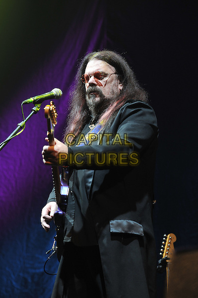 Roy Wood.performing live in concert, o2 Arena, Greenwich, London, England. .11th December 2011.on stage gig performance music half length black suit guitar beard facial hair glasses .CAP/MAR.© Martin Harris/Capital Pictures.