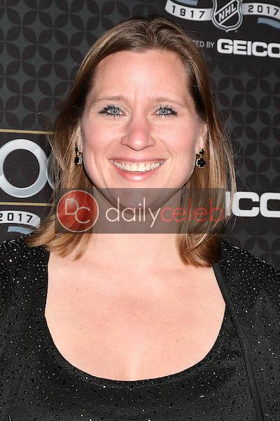 Angela Ruggiero<br /> at the The NHL100 Gala, Microsoft Theater, Los Angeles, CA 01-27-17<br /> David Edwards/DailyCeleb.com 818-249-4998
