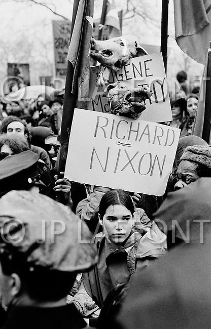 New York City, NY - April 8, 1969 <br />