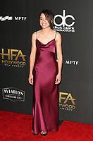 BEVERLY HILLS, CA - NOVEMBER 5: Tatiana Maslany, at The 21st Annual Hollywood Film Awards at the The Beverly Hilton Hotel in Beverly Hills, California on November 5, 2017. Credit: Faye Sadou/MediaPunch