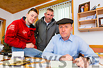Michael Healy-Rae who was back to work in his office on Wednesday morning after he was saved by Kevin Healy-Rae  and John Joe Reilly after a cow attacked him