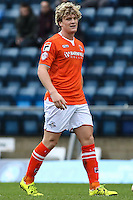 Luton Town goalscorer during the Sky Bet League 2 match between Wycombe Wanderers and Luton Town at Adams Park, High Wycombe, England on 6 February 2016. Photo by David Horn.