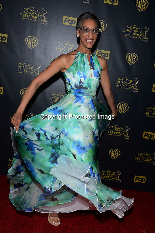 Carla Hall attends the 42nd Annual Daytime Emmy Awards Press Room on April 26, 2015 at Warner Bros Studio in Burbank, California, USA
