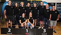 Junior World Championships Team. Swimming New Zealand Aon National Age Group Championships, Wellington Regional Aquatic Centre, Wellington, New Zealand, Saturday 20 April 2019. Photo: Simon Watts/www.bwmedia.co.nz