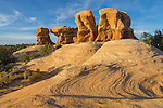 Grand Staircase-Escalante National Monument, Utah<br /> Sandstone formations of the Devil's Garden Outstanding Natural Area